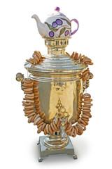 Samovar with dryers and tea infuser