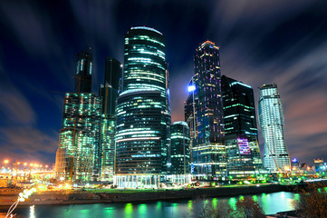 Небоскреб Москва сити