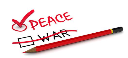 Мир (peace). Концепция изменения выбора