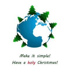 International Christmas card