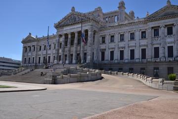 palácio legislativo em Montevideo