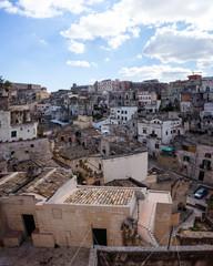 Cityscape of Matera (Basilicata, Italy)