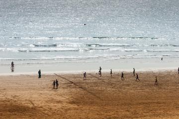 View of Agadir coastline