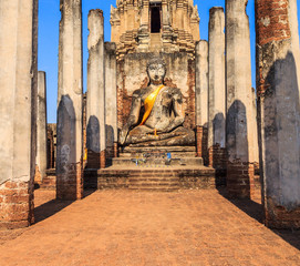 Si Satchanalai Historical Park in Sukhothai province of Thailand