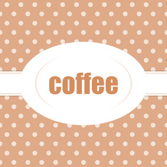 button dotted coffee I