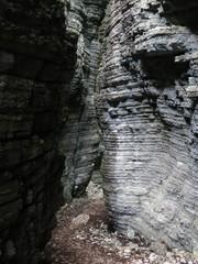 Deep Gorge Canyon Rock
