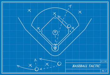 baseball tactic on blueprint