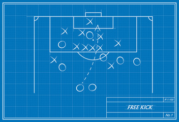 free kick on blueprint