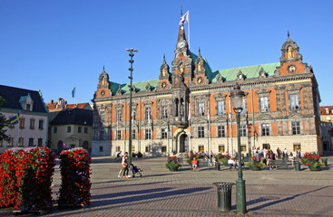 Town Hall of Malmo City, Sweden
