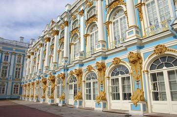 Le palais de Catherine ( St Petersbourg - Russie)