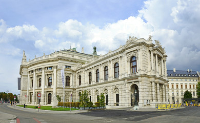 Vienna City theater, Burgtheater of Vienna, UNESCO WH Site