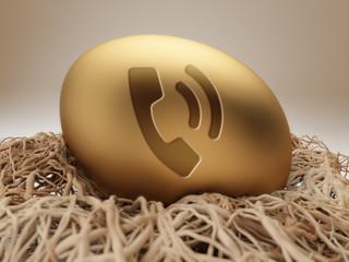 Egg Contact Icon
