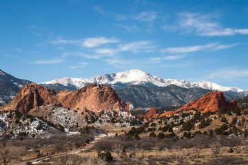 The Garden of the Gods Park, Colorado