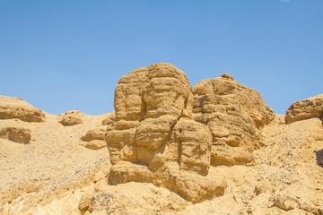 Steinwüste Ägypten Luxor