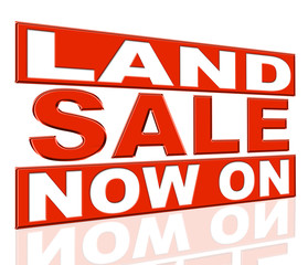 Land Sale Indicates At The Moment And Clearance