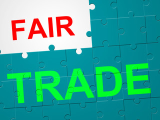 Fair Trade Represents Exporting Buy And Product