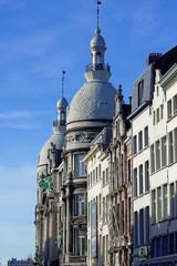 Hausfassaden in Antwerpen