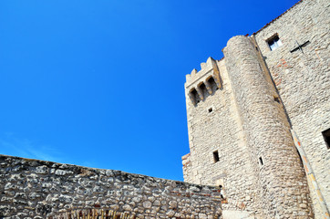 the castle of badiali tremiti islands, Italy