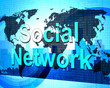 Social Network Means Connecting People And Forums