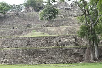 Palenque archeological site, chiapas mexico