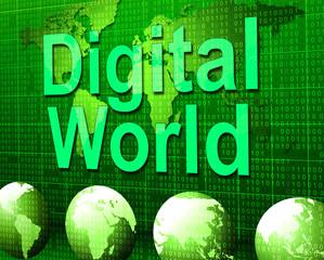 Digital World Shows High Tech And Data