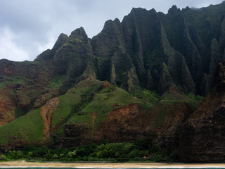 Cliffs of Na Pali coast