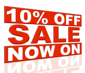 Ten Percent Off Indicates At The Moment And Cheap