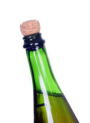 Without uncorking champagne bottle