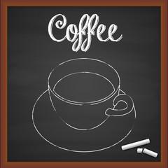 Lavagna caffè