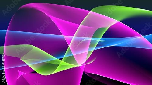 Astratto onde colorate, sfondo - 71857129