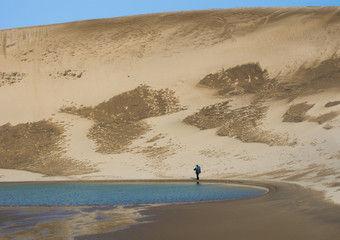 Man in the sands