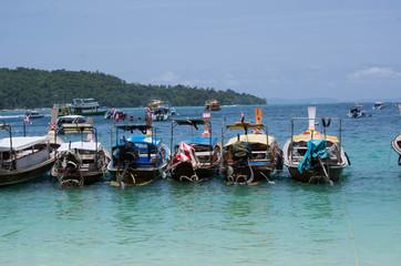 ピピ島のタクシーボート
