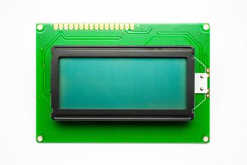 Green LED Character Display