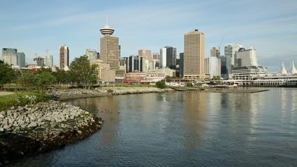 Vancouver Cityscape, Burrard Inlet Shoreline