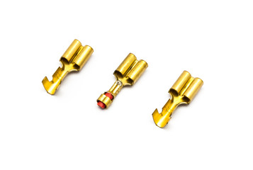 Gold Crimp Terminal Connectors