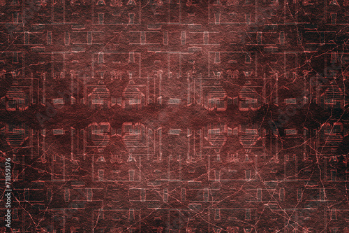 Staande foto Leder abstract grunge background for your text