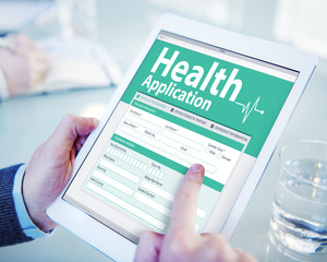 Digital Health Insurance Application Form Concepts