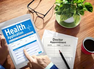 Digital Health Insurance Application Form Concepts