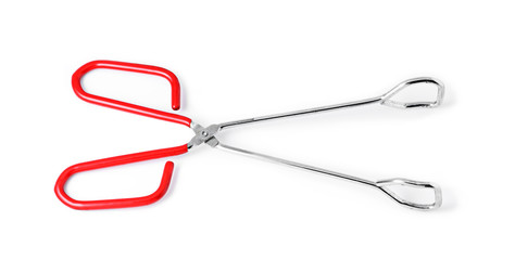 red tongs isolated