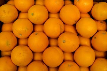 Oranges in Farmers Market