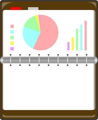 手帳 グラフ