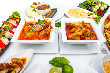 Collection Thai food
