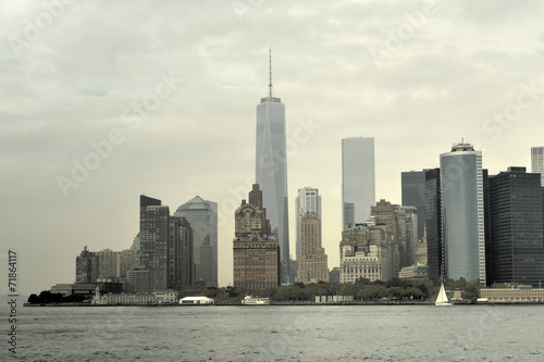 View of Downtown Manhattan, New York - 71864117
