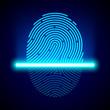 Fingerprint scanner, identification system
