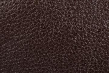 Dark brown leather texture background