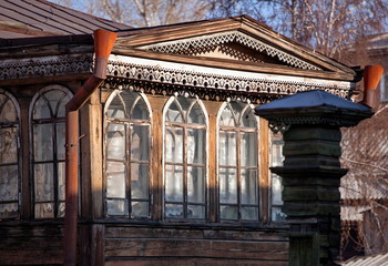 Old wooden house