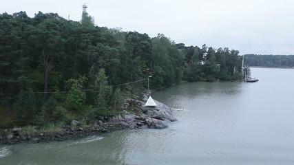 View sea islands Finland