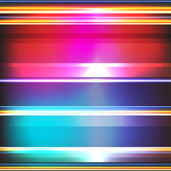 Colorful stripes on a dark background