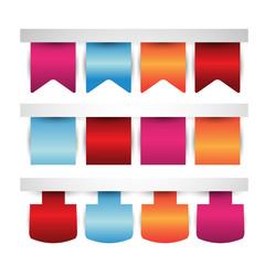 web banner or bookmark/labels