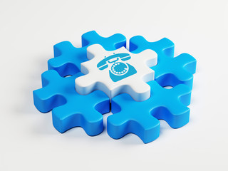 Puzzle Contact Icon